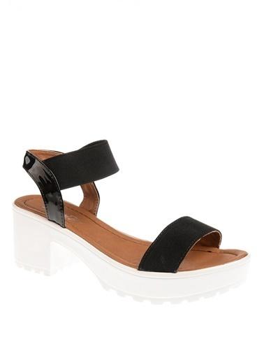 Queen Bee Sandalet Siyah